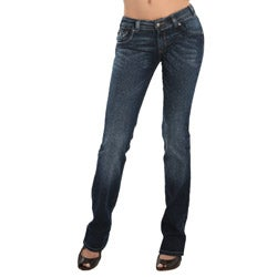 Helen Women's Stretch Push-up Jeans - Thumbnail 1