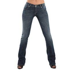 Virtual Sensuality Women's 'Katherine' Light Stretch Push Up Jeans