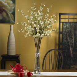 Silk 40-inch Cherry Blossom Flower Arrangement - Thumbnail 1