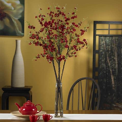 Silk 40-inch Cherry Blossom Flower Arrangement