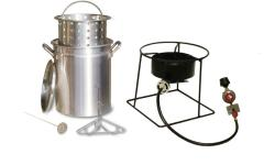 King Kooker Fry, Boil and Steam Cookware Set - Thumbnail 2