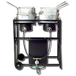 King Kooker 30-inch Dual Frying Cart Package