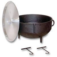King Kooker 10-gallon Cast Iron Jambalaya Pot