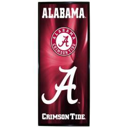 Alabama Crimson Tide Vertical Mylar Wall Hanging Framed Logo - Thumbnail 0