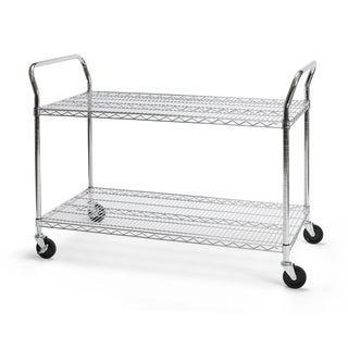 OFM Heavy Duty 24 x 48-inch Mobile Cart