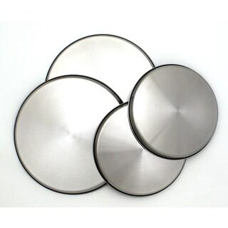 Range Kleen Stainless Steel Burner Kovers (Set of 4)