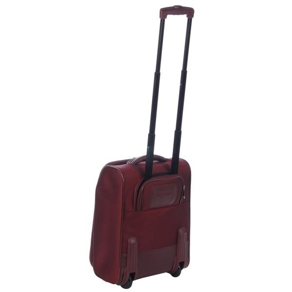 Samsonite Burgundy Maneuver 17-inch Rolling Carry-on Tote Bag ...
