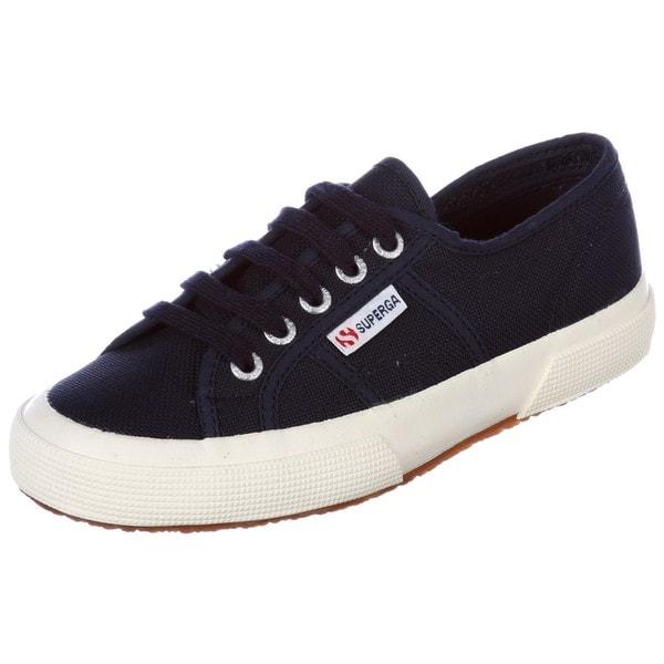 Superga Unisex '2750 Classic' Navy Blue Canvas Shoes
