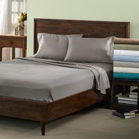 Superior 600 Thread Count Deep Pocket Split King Cotton Blend Sheet Set