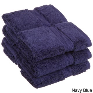 Superior Luxurious Egyptian Cotton 900 GSM Washcloth (Set of 6)