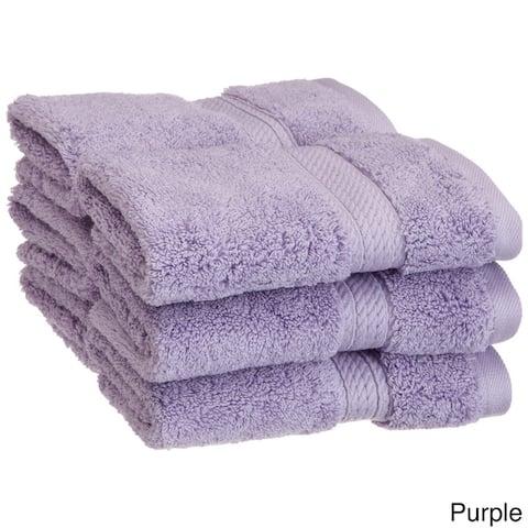 Miranda Haus Luxurious Egyptian Cotton 900 GSM Washcloth (Set of 6)