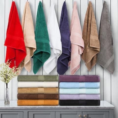 Miranda Haus Luxurious Egyptian Cotton 900 GSM Bath Towel (Set of 2)