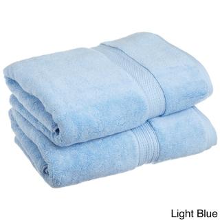 Superior Collection Luxurious 900 GSM 100-percent Premium Long-staple Combed Cotton Bath Towels (Set of 2)