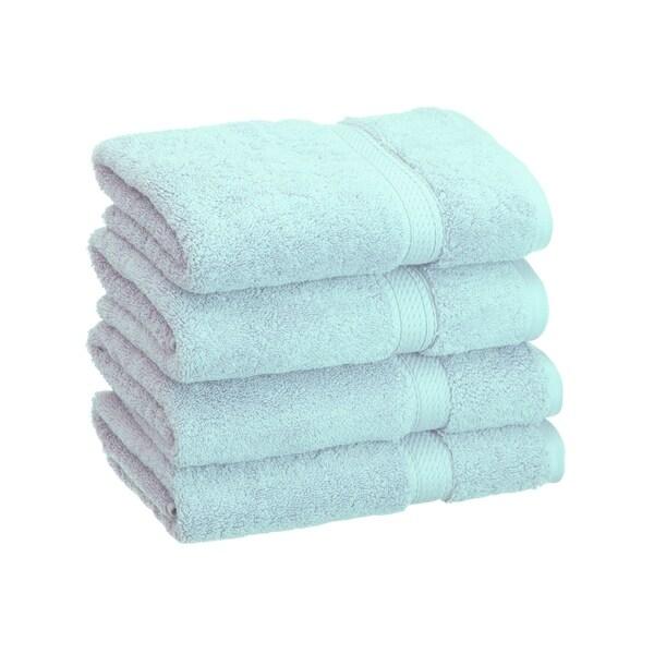 900GSM Egyptian Cotton 4-Piece Hand Towel Set Chocolate