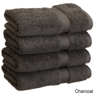 Superior Collection Luxurious 900 GSM 100-percent Premium Long-staple Combed Cotton Hand Towels (Set of 4)