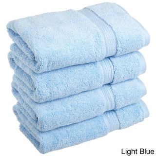 Superior Luxurious and Absorbent 900 GSM Combed Cotton Hand Towel (Set of 4)