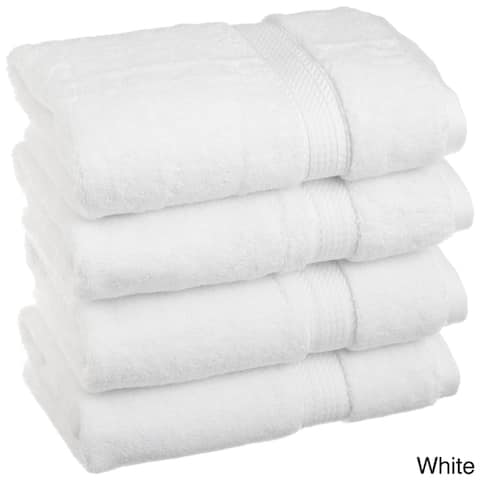 Miranda Haus Egyptian Cotton 900 GSM Luxurious Hand Towel Set (Set of 4)