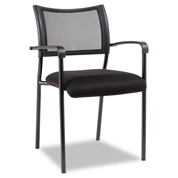 Alera Eikon Series Stacking Mesh Guest Chair-2/Carton