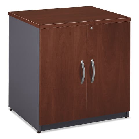 Bush Series C Collection 30W Storage Cabinet Hansen Cherry - 29.5 x 23.38 x 29.88