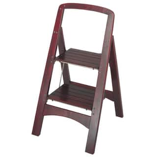 Cosco 2-step Solid Wood Folding Step Stool|https://ak1.ostkcdn.com/images/products/5842743/P13556168.jpg?impolicy=medium