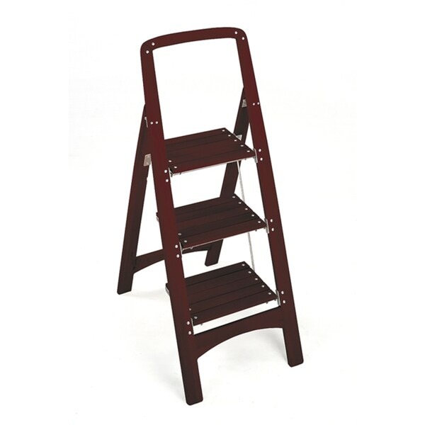 Cosco 3-step Wood Folding Step Stool - Free Shipping Today - Overstock.com - 13556169  sc 1 st  Overstock.com & Cosco 3-step Wood Folding Step Stool - Free Shipping Today ... islam-shia.org