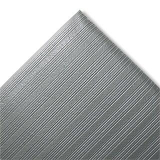 "Crown Ribbed Anti Fatigue Grey Vinyl Mat (27"" x 36"")"