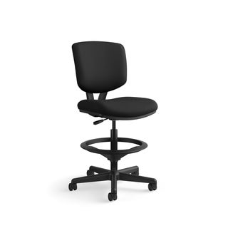 HON Volt Series Adjustable Task Stool Black Fabric