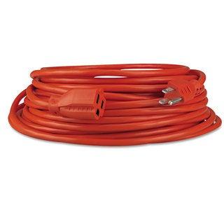 Innovera Indoor/Outdoor Extension Cord 50ft Orange