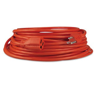 Innovera Indoor/Outdoor Extension Cord 50ft Orange