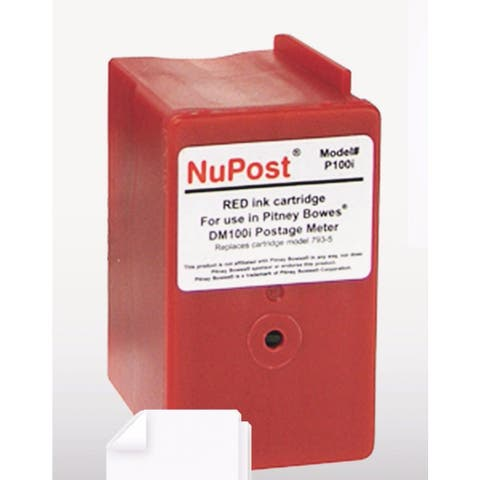 Innovera Compatible with 793-5 Postage Meter 3000 Page-Yield Red