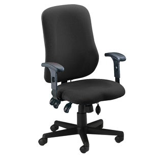 Mayline Comfort Series Grey Contoured Support Chair