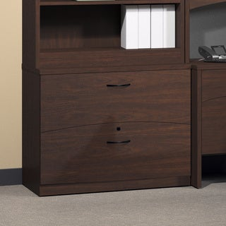 Mayline Brighton Series Mocha Lateral File
