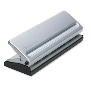 FranklinCovey Four-Sheet Seven-Hole Punch for Classic Style Day Planner Pages Metal