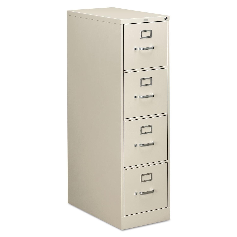 HON 310 Series Light Grey 4-drawer Suspension File Cabine...