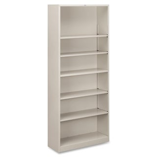 HON Metal Bookcase with 6 Shelves