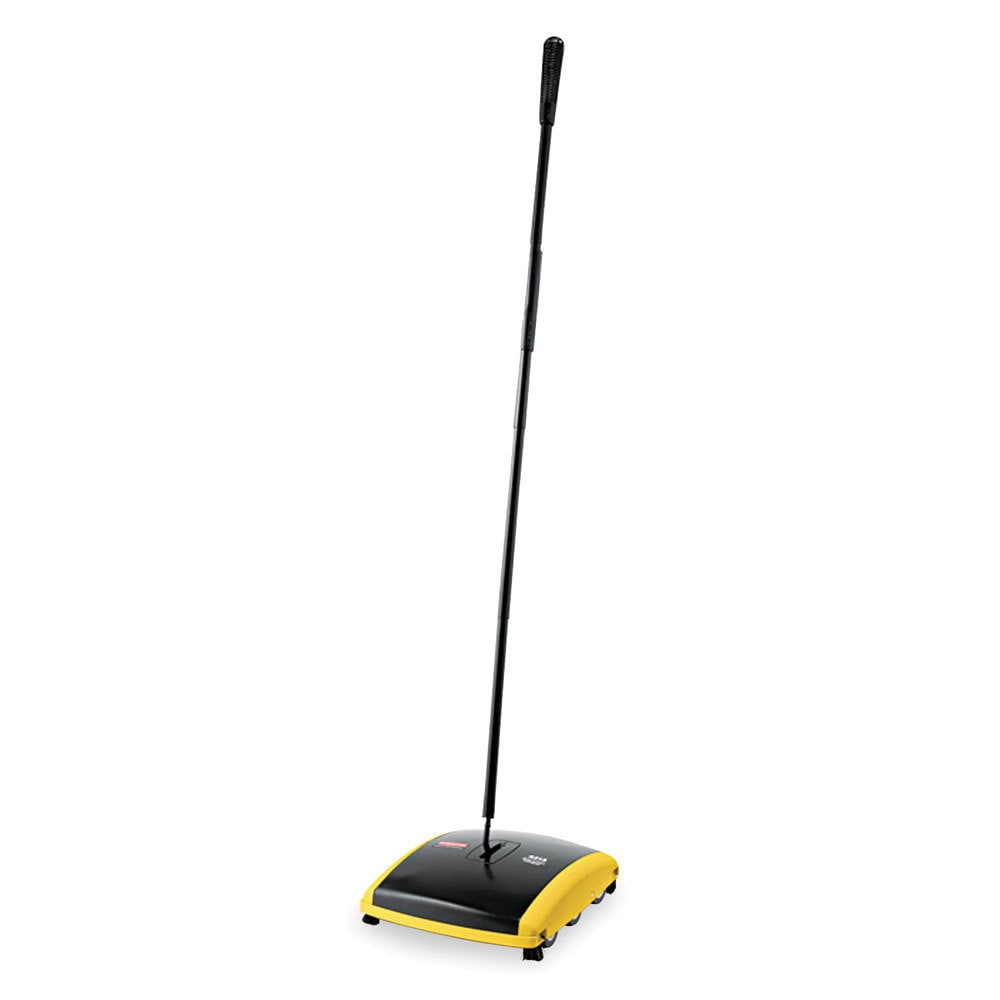Rubbermaid Commercial Dual Action Sweeper-, Silver steel