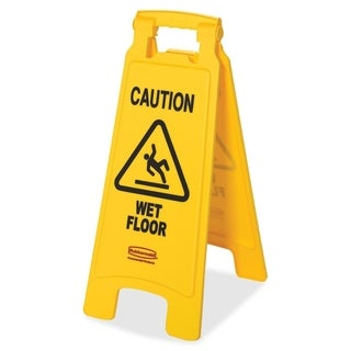 Rubbermaid Commercial Caution Wet Floor Floor