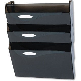 Rubbermaid Classic Hot File 3-pocket Wall File System