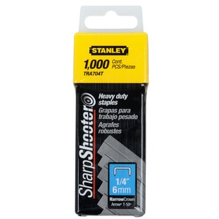 Stanley Sharpshooter 1/4 Leg Length Staples-