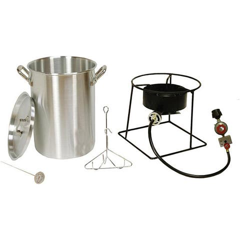 King Kooker Outdoor Turkey Fryer with a Stainless Steel 30Qt. Pot