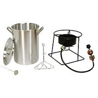 King Kooker Outdoor Turkey Fryer with a Stainless Steel 30Qt. Pot