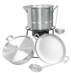 Aluminum 'Southwestern Sizzler' Cooking Set
