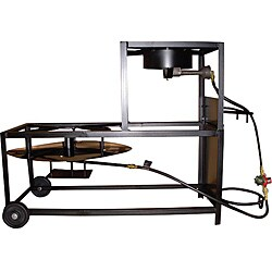 King Kooker 30-inch Boil and Fry Jet Cooker and Cast Burner Cart
