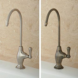 Single Handle Brass Water Filter Faucet Free Shipping Today Overstock Com 13559309