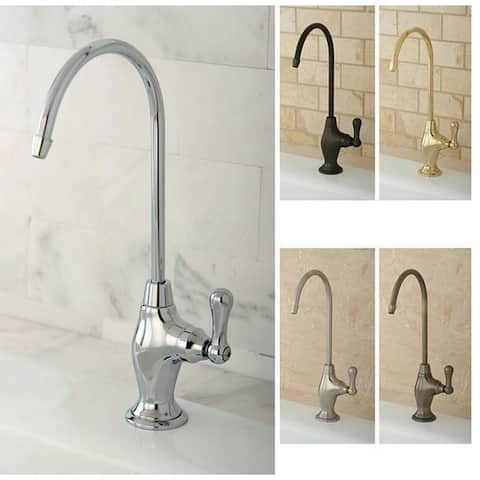 Brushed Nickel Single-Handle Brass Water Filter Faucet