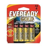 Eveready AA Alkaline Battery Retail 4-pack