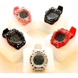 Beatech Black Alarm Clock/ Stopwatch/ Countdown Timer Watch Heart Rate Monitor