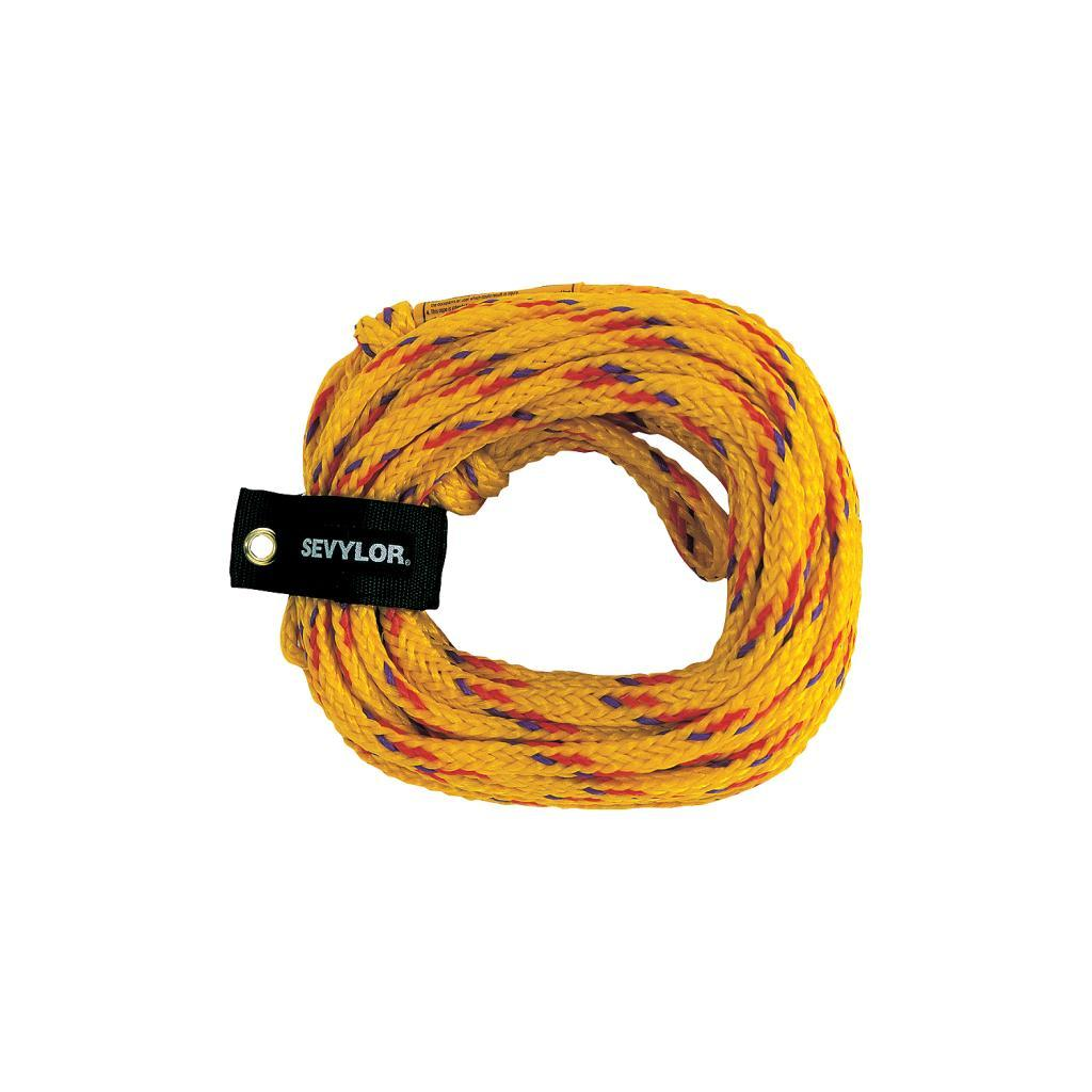 Coleman Yellow 60-foot One-to-four-rider Tow Rope with NBR Foam Float
