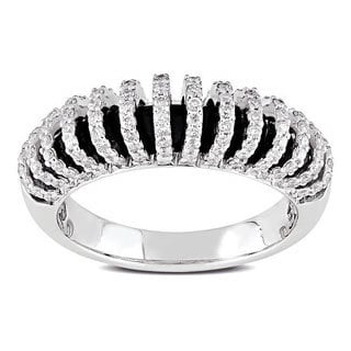 Miadora 18k White Gold 5/8ct TDW Diamond Ring (G-H, SI1-SI2)