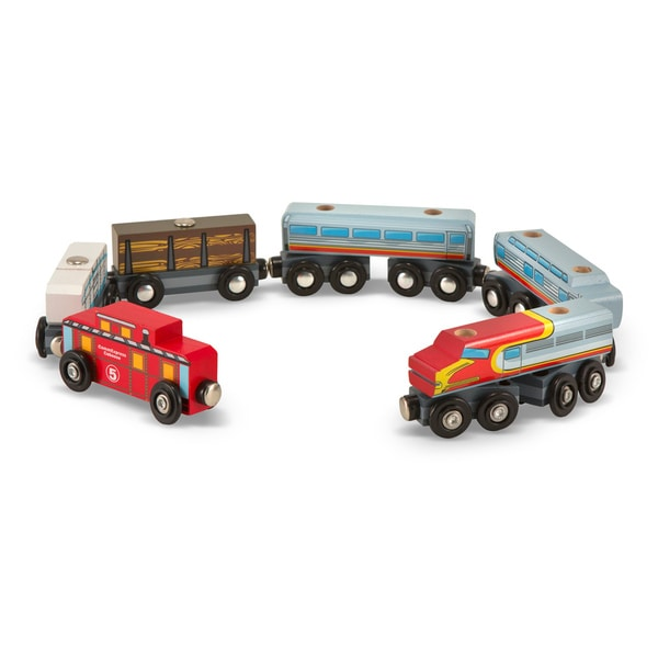 Melissa & Doug Train Cars